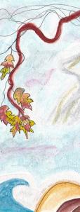Bookmark art, front