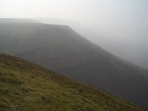 Rhos Dirion, Black Mountains, Wales