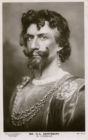 H A Saintsbury as Iachimo, 1906