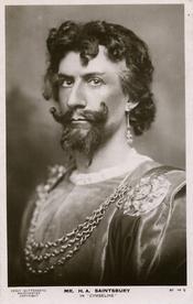 H A Saintsbury as Iachimo, 1906