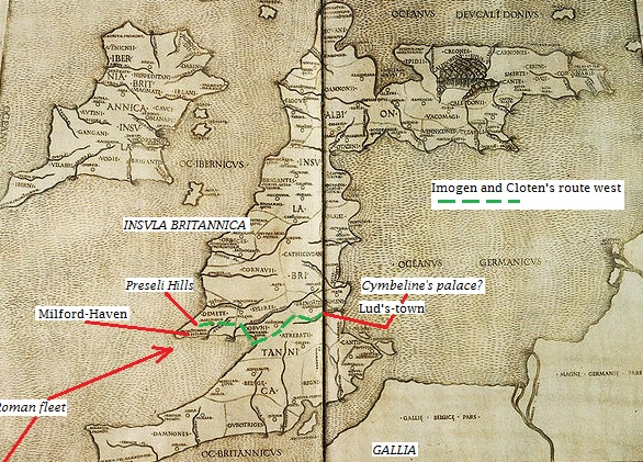 Roman Britain according to Ptolemy c. 90--168