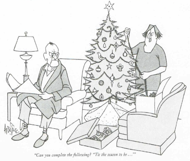 tis the season cartoon