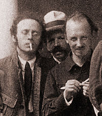 Radek-and-Bukharin-2nd-Congress-1920