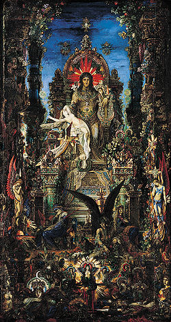 Gustave Moreau, Jupiter and Semele