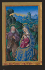 Nativity, Great Hours of Anne of Brittany