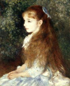 Renoir, Portrait of Irene Cahen dAn