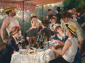 Renoir, Luncheon of the Boating Party, Phillips Collection, Washington, D.C.