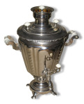 Mme Swann's samovar was red