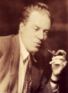 Morley with his pipe