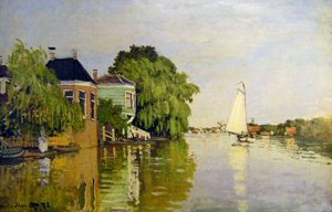 Monet, Landscape Near Zaandam