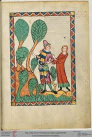Heidelberger Universitatsbibliothek, Manesse Codex, f. 395r